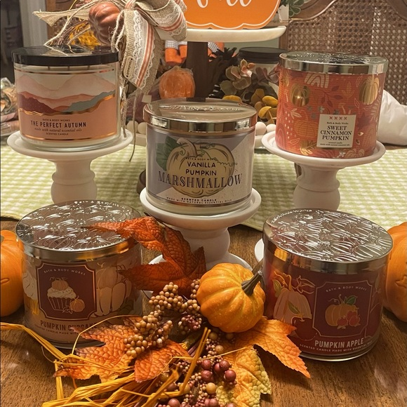 Fall Bath and Body Works Candles
